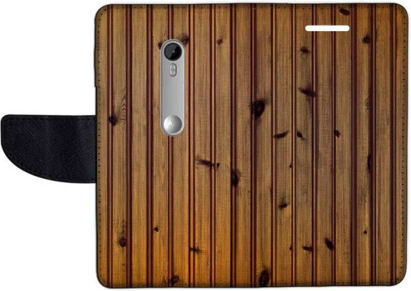 Muvit Flip Cover for Motorola Moto G Turbo Edition