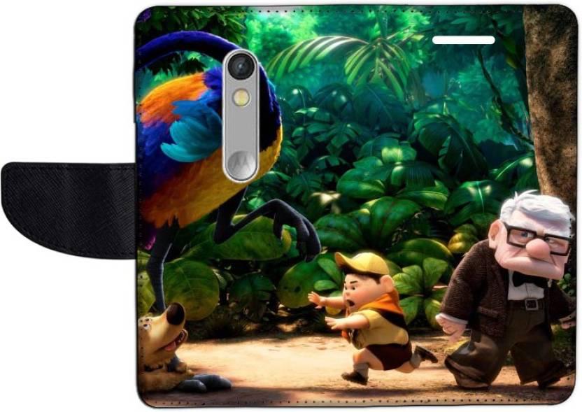 Muvit Flip Cover for Motorola Moto X Play