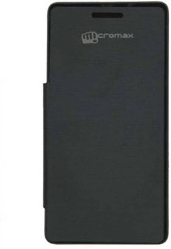 STC Flip Cover for Micromax A105 Canvas Entice