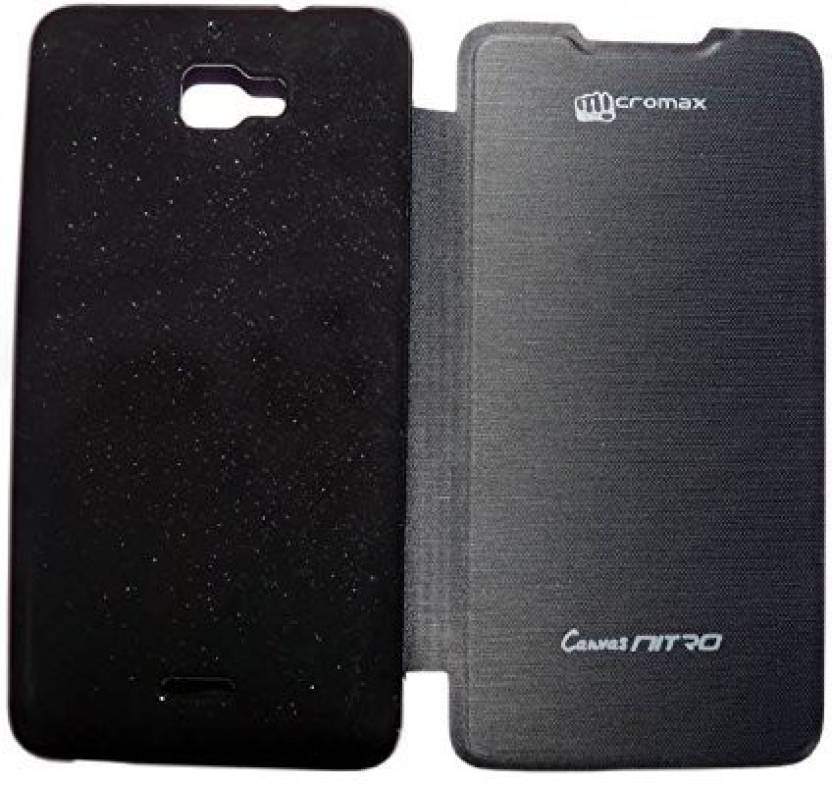 sports shoes d4cc4 b390b Aara Flip Cover for Micromax Canvas Nitro A310 Smart Flip Cover ...