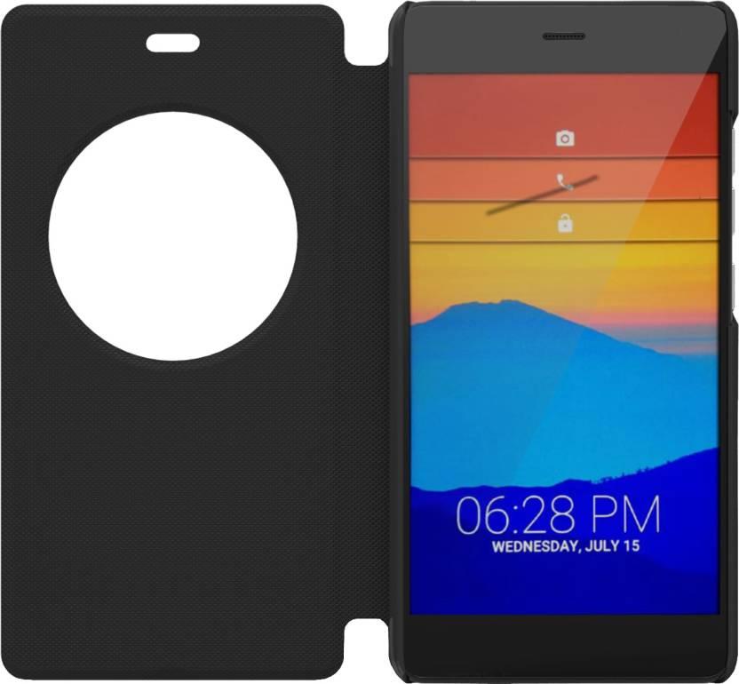 premium selection aeb68 f1a58 XOLO Flip Cover for XOLO Black