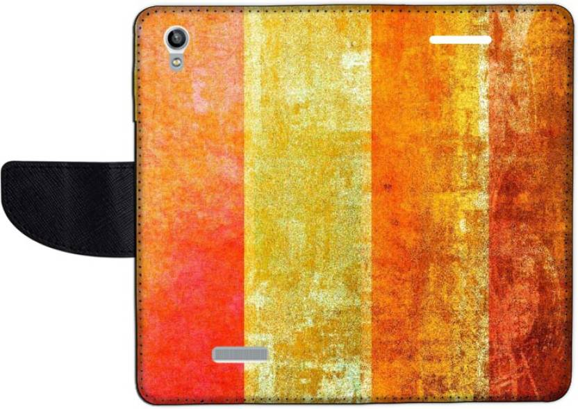 Muvit Flip Cover for Lava Pixel V1