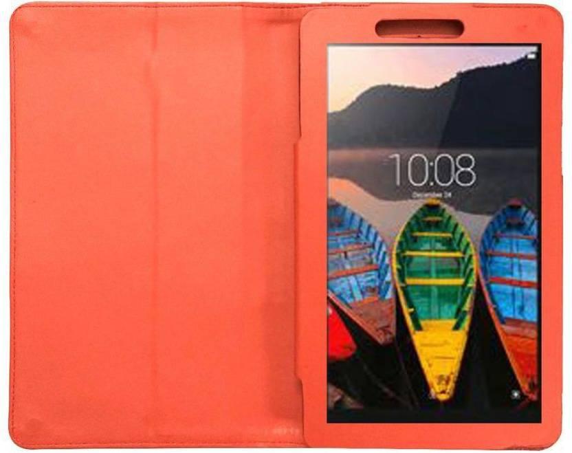 Celzo Flip Cover for Lenovo Tab 3 A710F Red