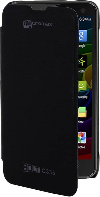 Clickcases Flip Cover for Micromax Bolt Q335