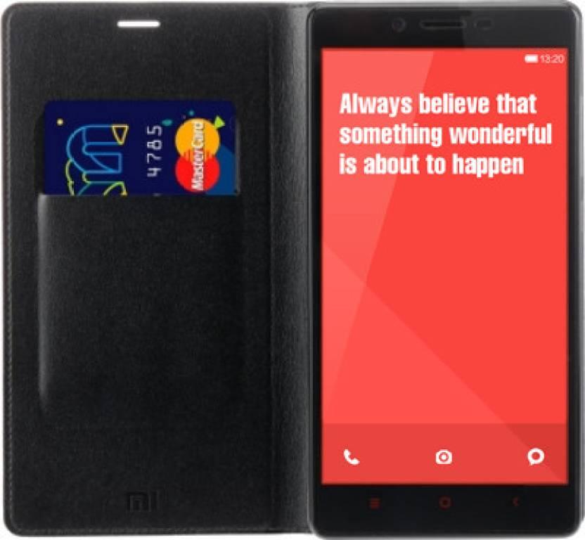 Mi Flip Cover for Mi Redmi Note and Redmi Note 4G
