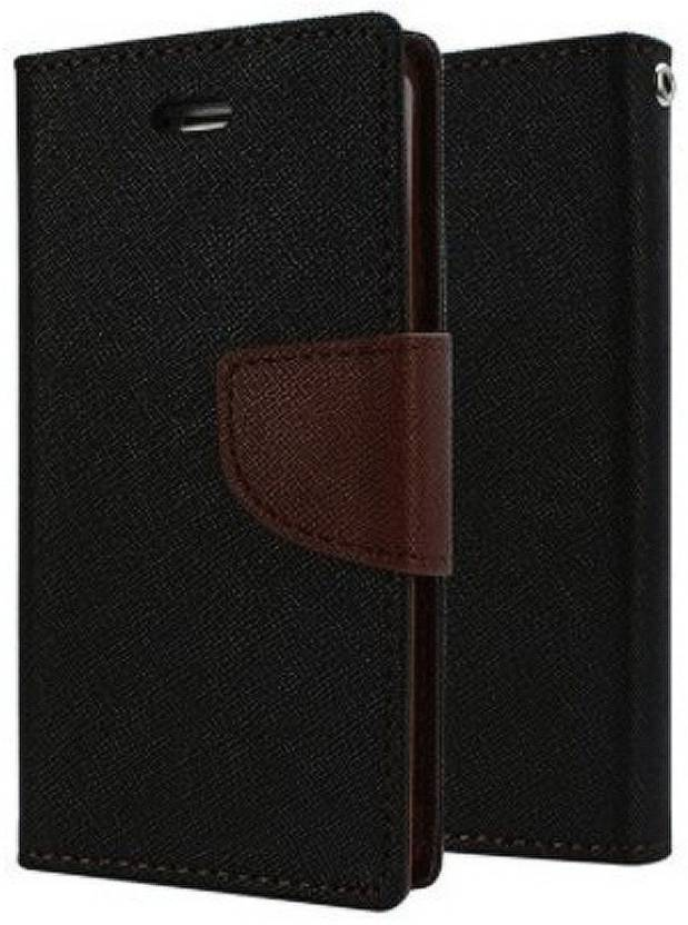 Spicesun Flip Cover for Lenovo Vibe K5 Plus Black
