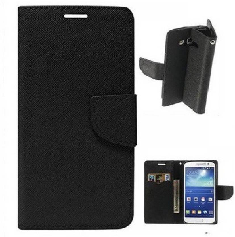 Ridhaniyaa Flip Cover for Motorola Moto E3 Power Black