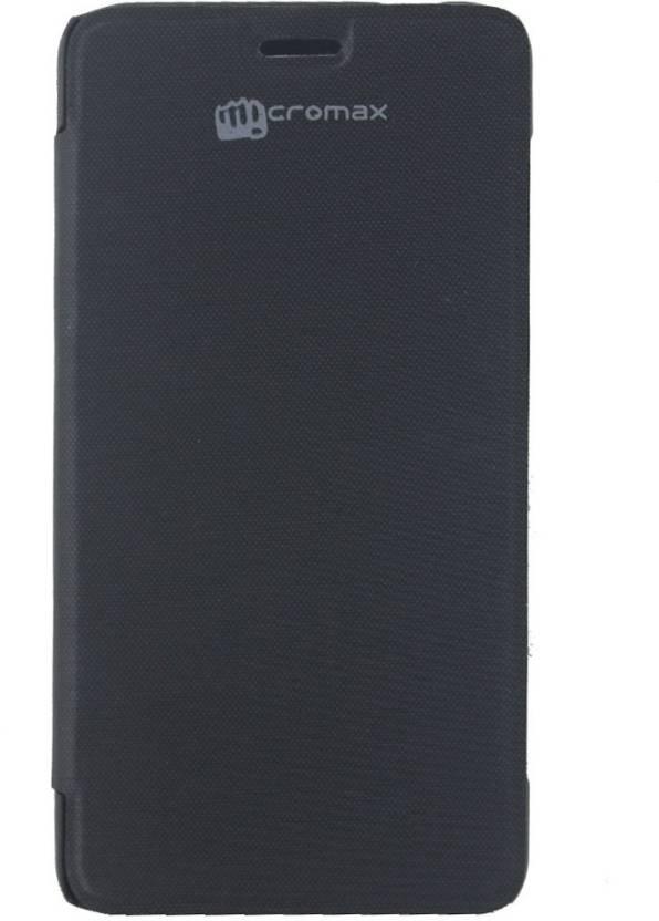 buy popular 3cd31 f5274 Blue Magnet Flip Cover for Micromax Bolt S301 - Blue Magnet ...