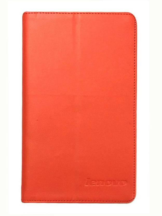 Colorcase Flip Cover for Lenovo Tab 3 A710F Red