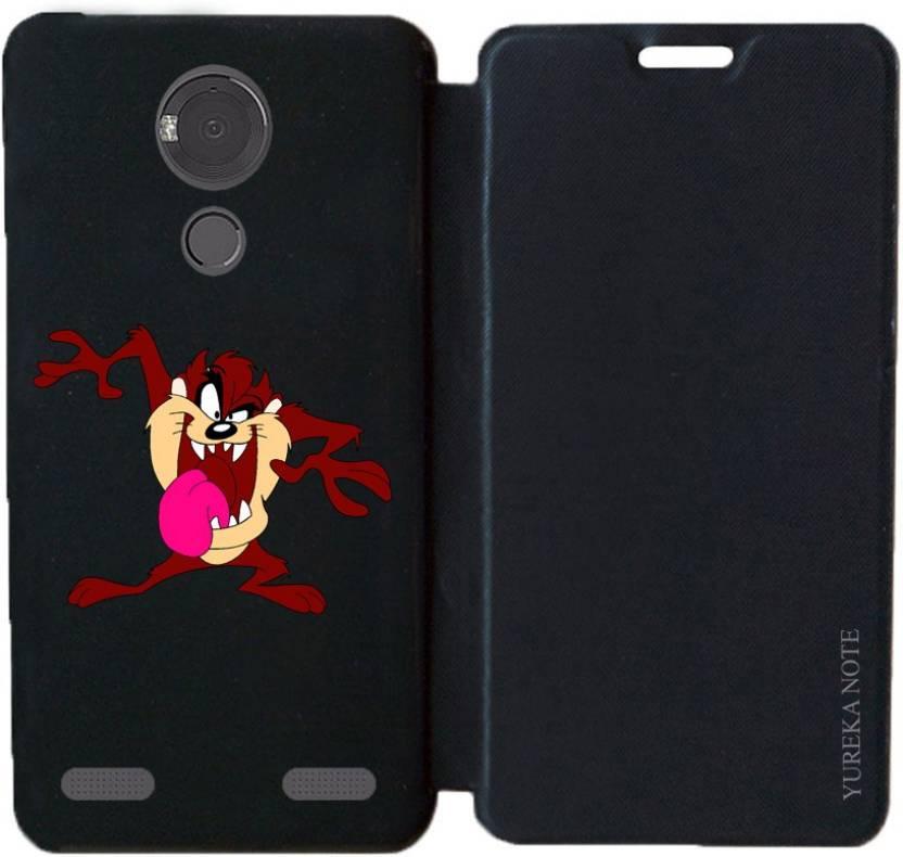 huge discount 1d2fa 70d05 BuyFeb Flip Cover for Yu Yureka Note - BuyFeb : Flipkart.com