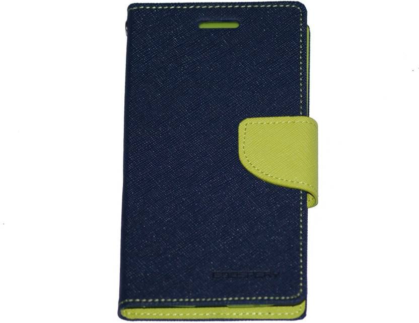 48132b97818 Goospery Flip Cover for Samsung Galaxy Win Gt-I8552 (Blue Green, Leather)