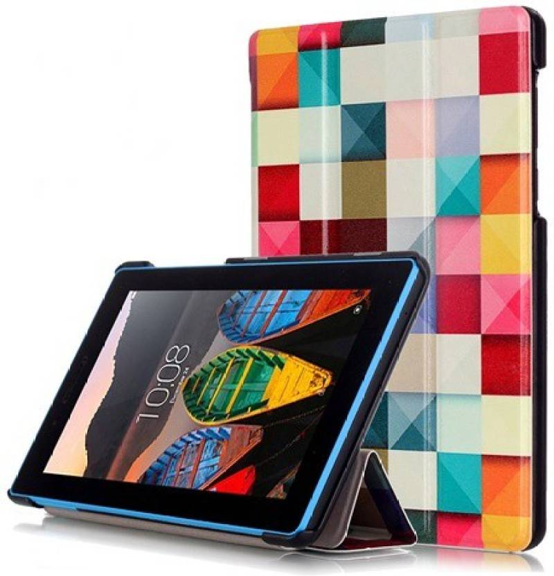 timeless design 0f5f3 2ef67 YAOJIN Flip Cover for Lenovo Tab 3 7.0 Essential 7