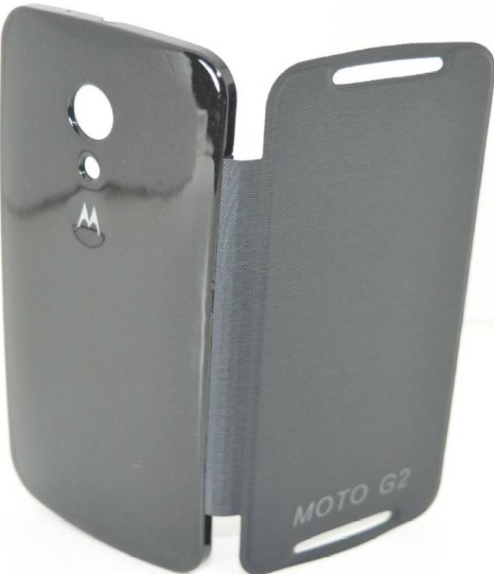 low priced 92e9a d3c4a YourDeal Flip Cover for Moto G2 2nd Gen