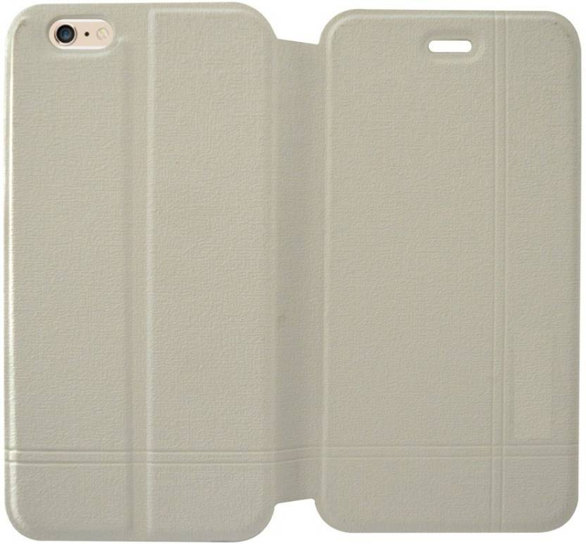 COVERNEW Flip Cover for Apple iPhone 6S White