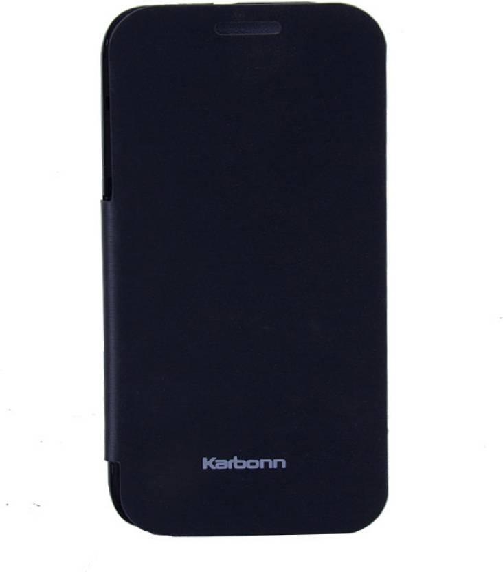 brand new 871f5 8b5a2 Case-M Flip Cover for KARBONN TITANIUM S5 PLUS S5+