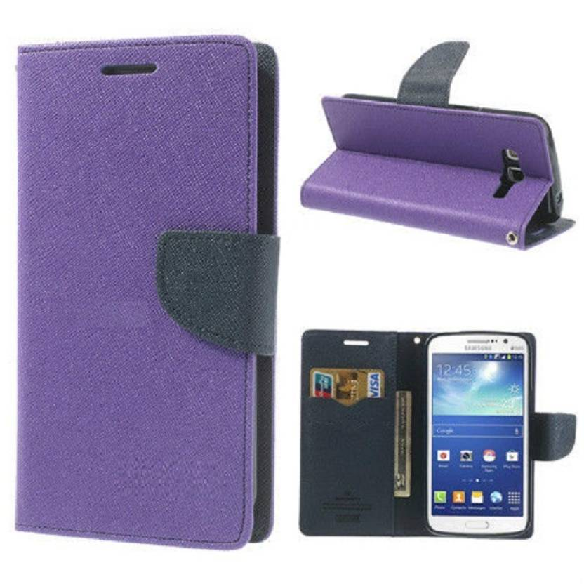GMK MARTIN Wallet Case Cover for Sony Xperia C-5