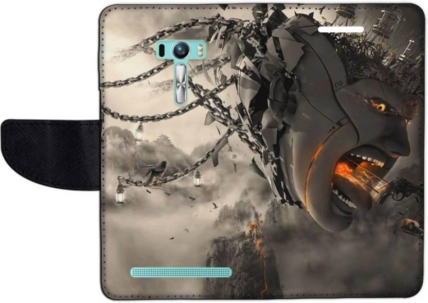 Muvit Flip Cover for Asus Zenfone Selfie ZD551KL