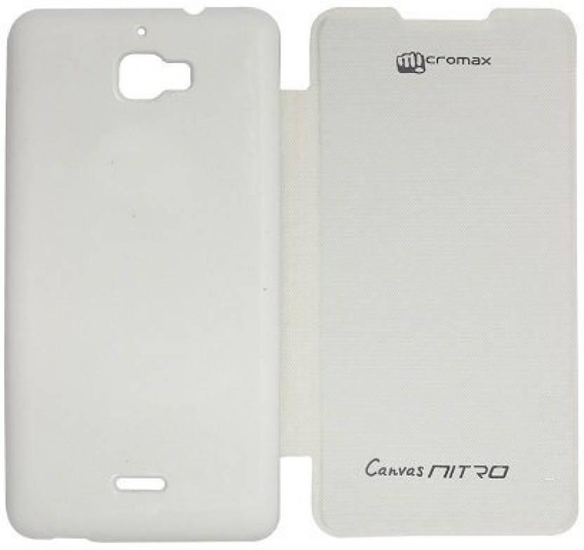 online store da911 468b6 chl india care Flip Cover for Micromax A310 Canvas Nitro