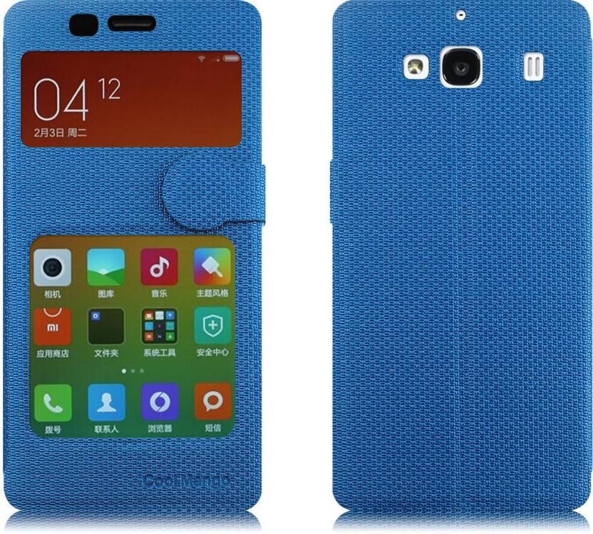 new concept bef57 596fc Cool Mango Flip Cover for Mi Redmi 2 Prime - Cool Mango : Flipkart.com