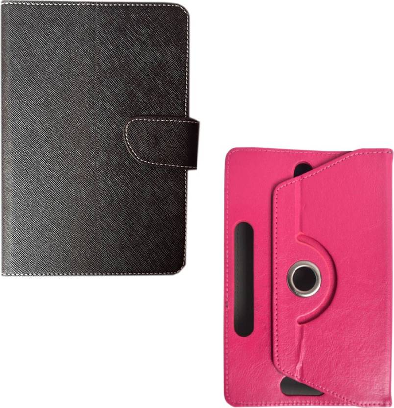 BuyeZyy Flip Cover for Micromax Canvas Tab P650E Tablet BZ-893