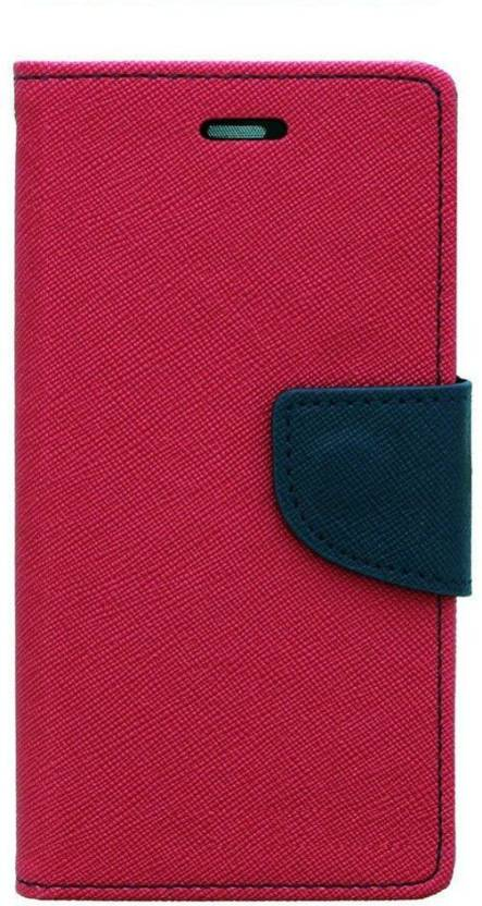 Vinayak Retail Flip Cover for Vinayak Retail SAMSUNG A8 PINK FLIP COVER Pink