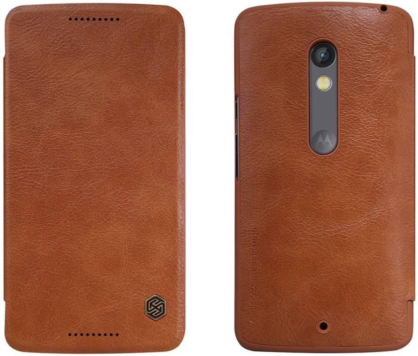 premium selection b4d44 2b30a Nillkin Flip Cover for Motorola Moto X Play