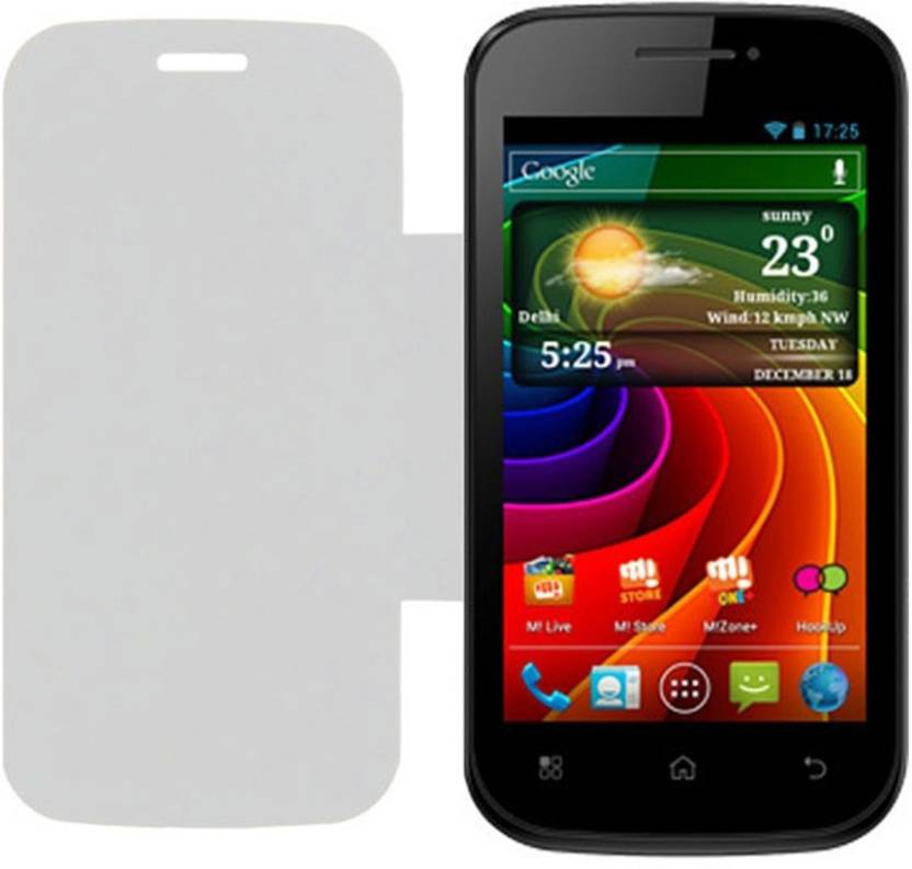 Iway Flip Cover for Micromax Bolt A35