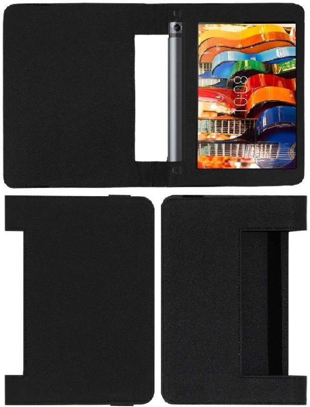 Colorcase Flip Cover for Lenovo Yoga 3 8 inch Black, Flip Cover