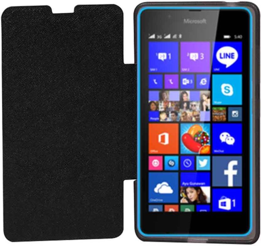 Stylabs Flip Cover for Microsoft Lumia 540 - Stylabs : Flipkart com