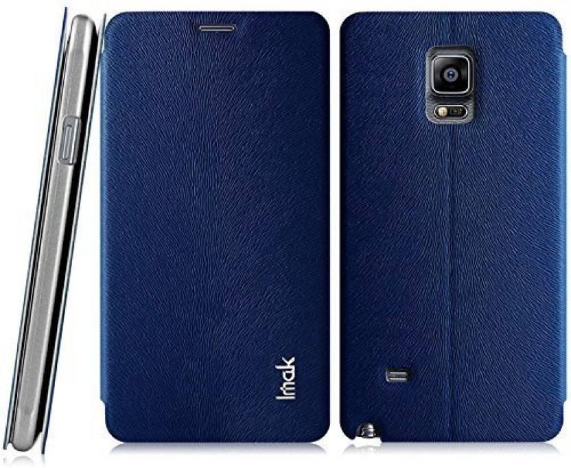 online store 98077 c92d5 IMAK Flip Cover for SAMSUNG Galaxy Note 4 - IMAK : Flipkart.com