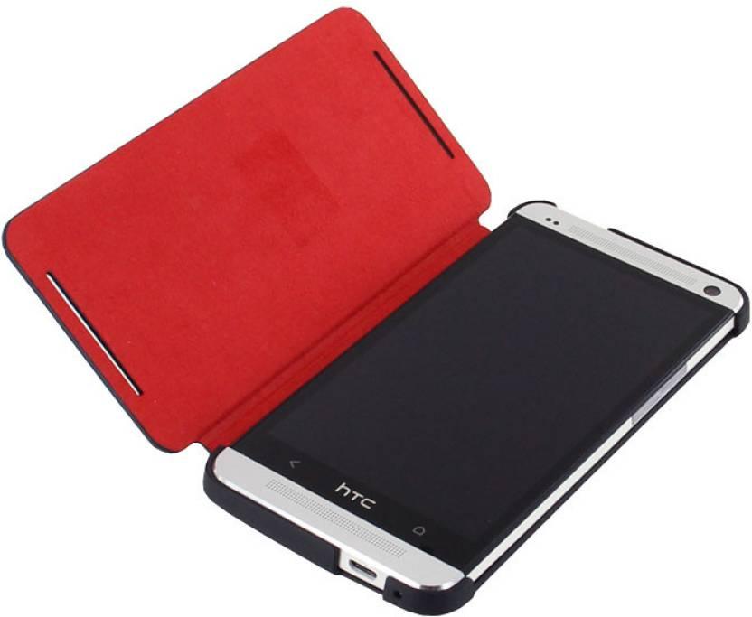 big sale b0a2a f7b9b HTC Flip Cover for Htc one m7 Dual sim 802D - HTC : Flipkart.com