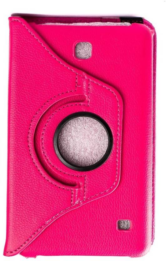 Mystry Box Flip Cover for Samsung Galaxy Tab 4 7'' inch T230 T231 Pink