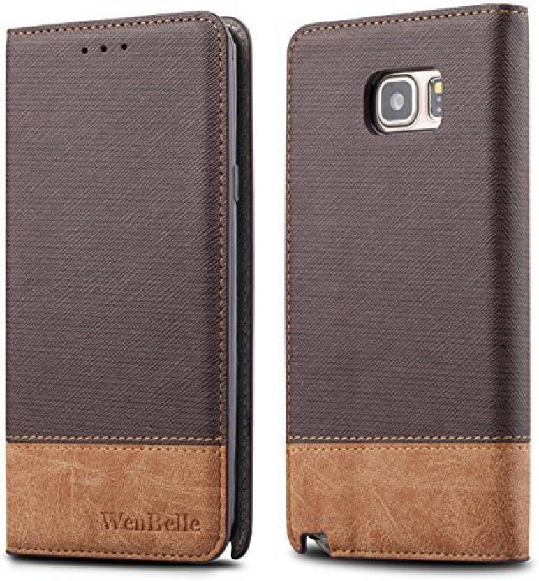 wholesale dealer 93bac 88384 WenBelle Flip Cover for Samsung Galaxy Note 5 - WenBelle : Flipkart.com