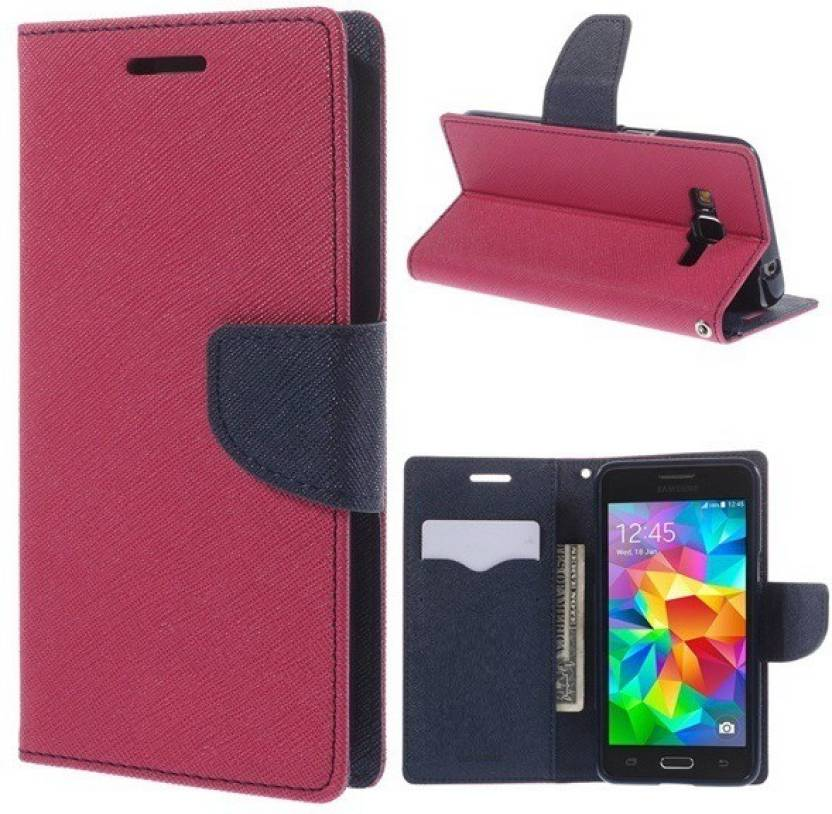 Trap Flip Cover for OnePlus One Pink