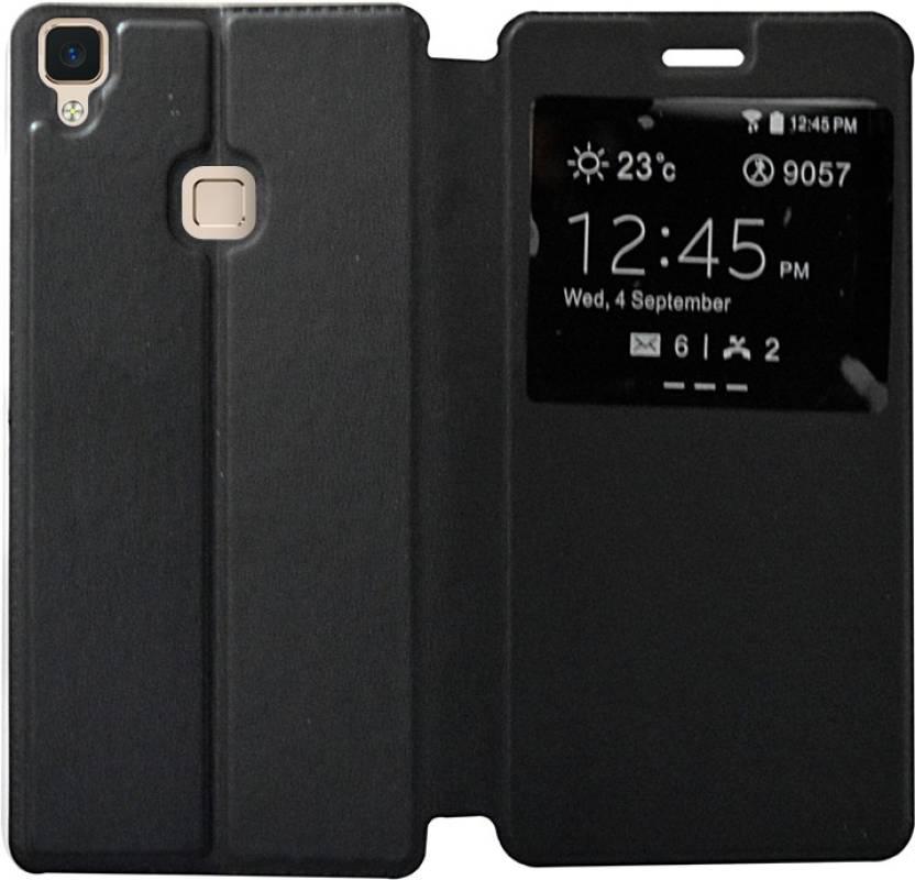 100% authentic 82def f741a Coverage Flip Cover for Vivo V3 Max, Vivo V3 Max