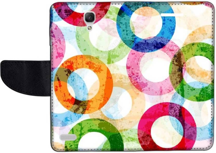 Muvit Flip Cover for Mi Redmi Note Prime