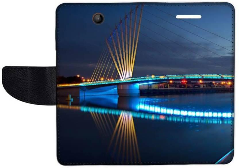 Muvit Flip Cover for Microsoft Lumia 430