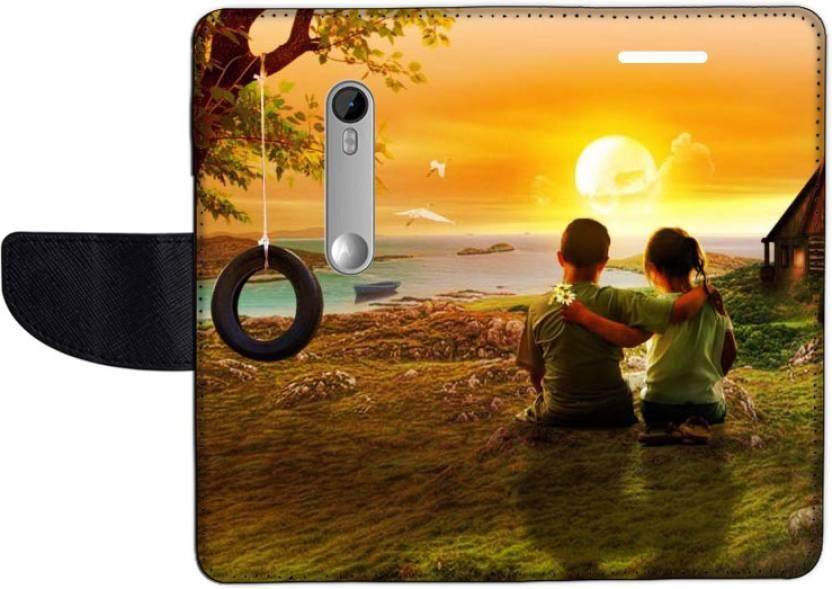 Muvit Flip Cover for Motorola Moto G3