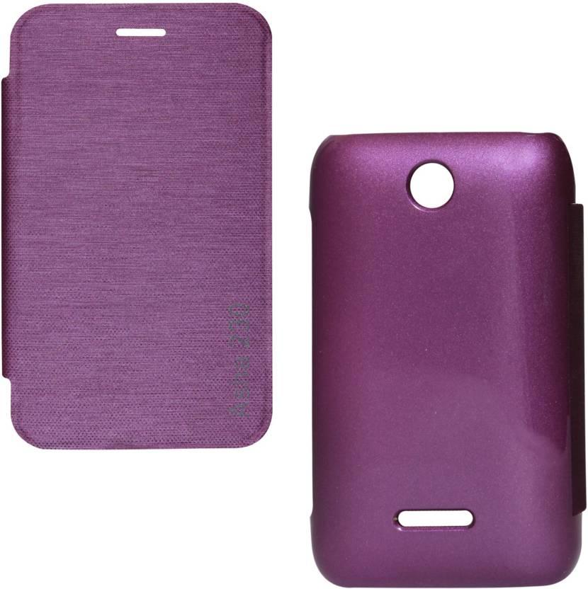 first rate 6d285 e54b5 DMG Flip Cover for Nokia Asha 230 - DMG : Flipkart.com