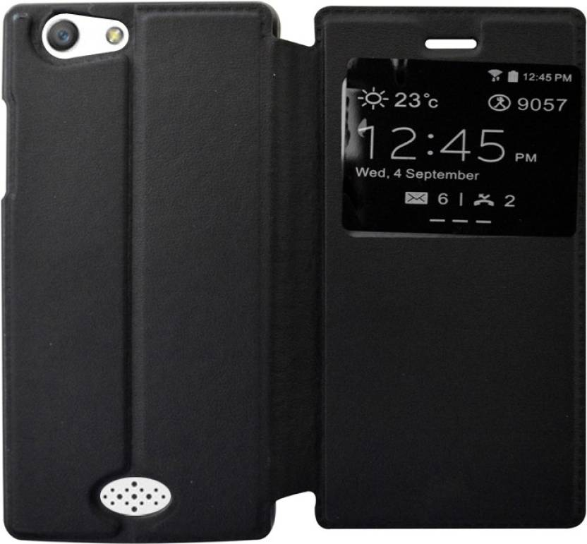 low priced a5fe5 cc476 COVERNEW Flip Cover for OPPO Neo 5