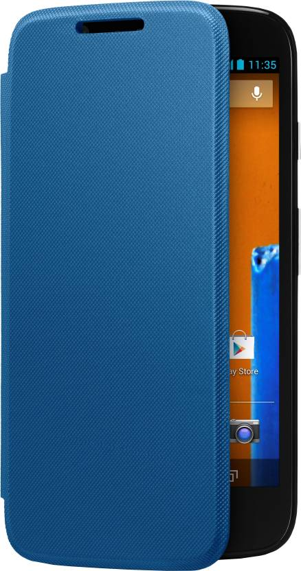 save off ed252 7afd4 Motorola Flip Cover for Moto G (1st Gen)