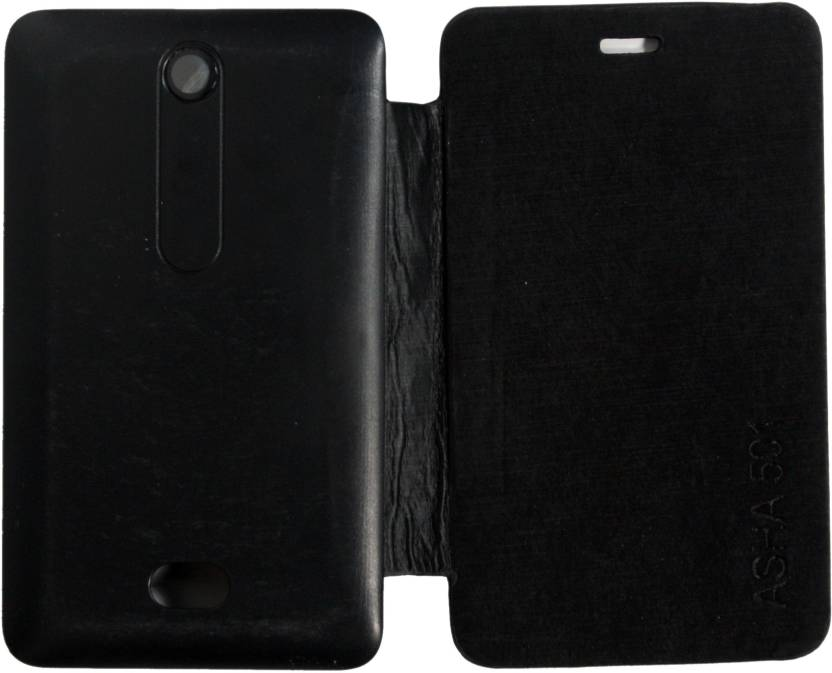 the latest 0f788 c9621 Bluerock Flip Cover for Nokia Asha 501 - Bluerock : Flipkart.com