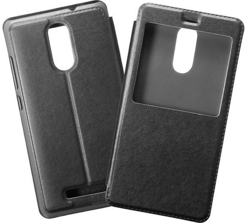 Spicesun Flip Cover for Mi Redmi Note 4 Black
