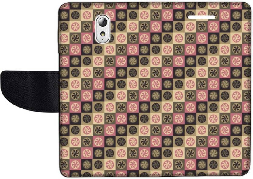 Muvit Flip Cover for Lenovo VIBE P1m