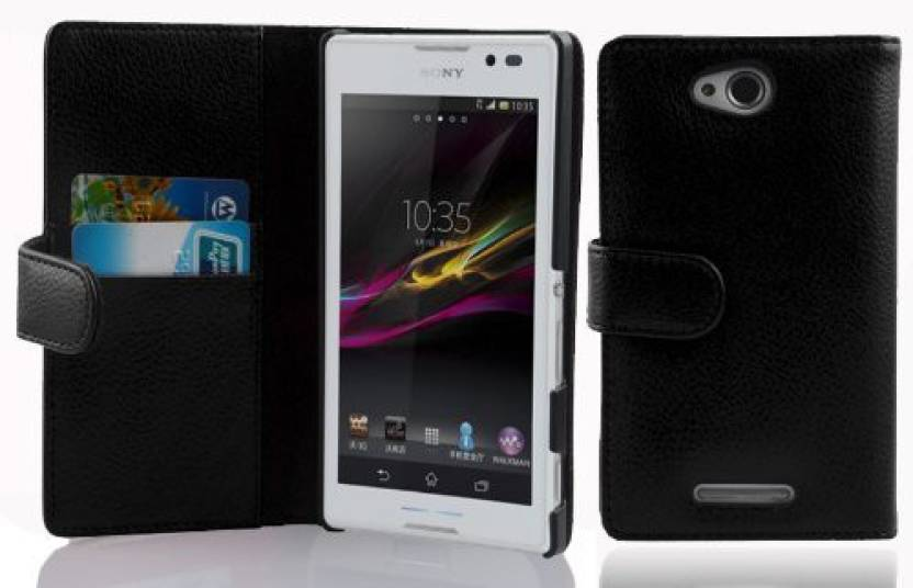 Cadorabo Flip Cover for Sony xperia c