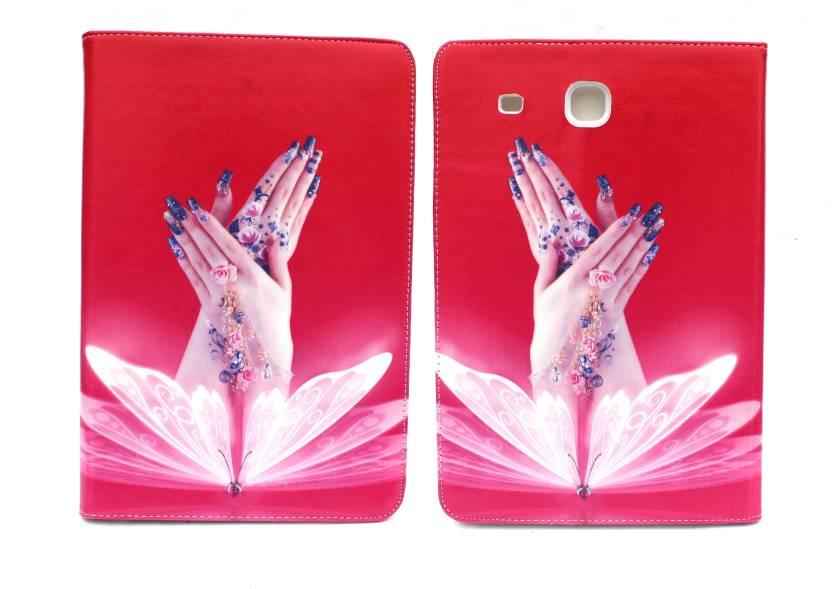 Fashion Flip Cover for Samsung Galaxy Tab E T561 9.6 inch Multicolor