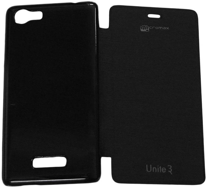 ASM Energy Flip Cover for MICROMAX UNITE 3Q372