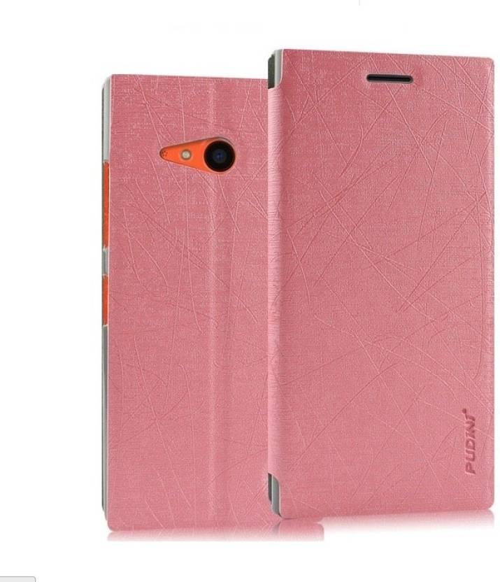 reputable site 928b8 17106 Pudini Flip Cover for Nokia Lumia 730 - Pudini : Flipkart.com