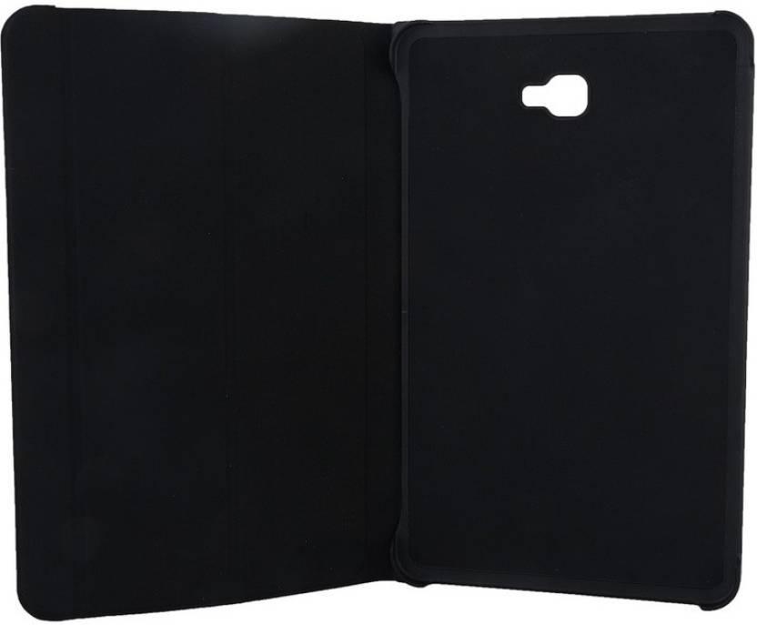 Colorcase Flip Cover for Samsung Galaxy Tab A 10.1  2016  Black