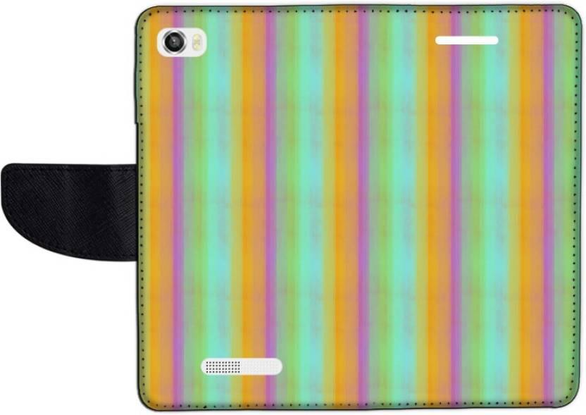 Muvit Flip Cover for Lava Iris X8